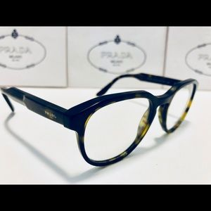 89e17fbd65e4 Prada Accessories - Prada JOURNAL Eyeglasses Dark Havana Brown New 51